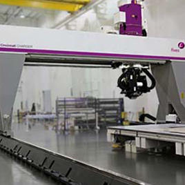 Cincinnati CHARGER Tape Layer System Automated Composites Processing תוצרת Fives Cincinnati